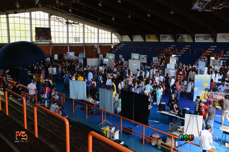 Atmosfera na sajmu